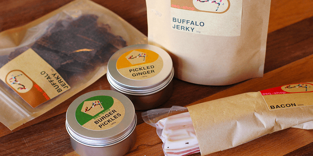 Stock your pantry with a three-hatted range of condiments from esq. shop