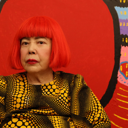 Take a walk on the technicolour side when Yayoi Kusama: Life is the Heart of a Rainbow bounces into GOMA