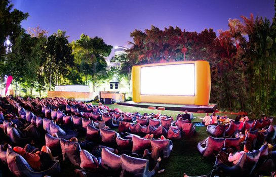 Snack, sip and catch starlit flicks at American Express Openair Cinemas