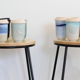 Join the war on waste with a handmade Planet Cup from Renton Bishopric Ceramics