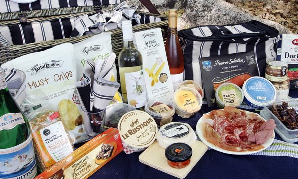 Your picnic game will be at its peak with New Farm Deli's delicious portable packages