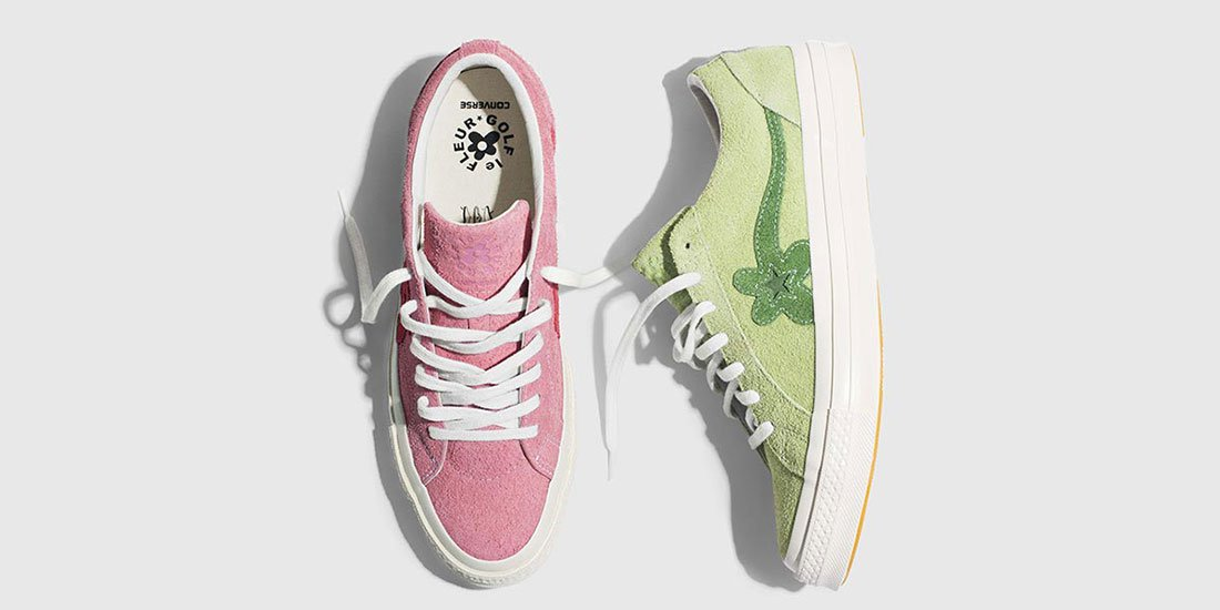 Flower power – Tyler, the Creator and Converse drop the next round of colourful collab GOLF le FLEUR*