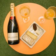 Cheese and Champagne Pop-Up