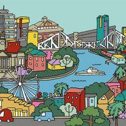Build your own Brisbane – the exhibition that lets you customise the city