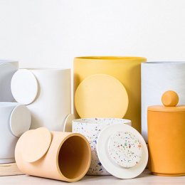 Home by Harlequin will colour your world with its sunny and speckled ceramics