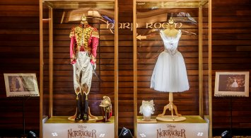Nutcracker and the Four Realms costume display