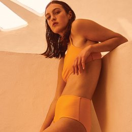 Kowtow takes it to the water with its ethically made debut swimwear drop