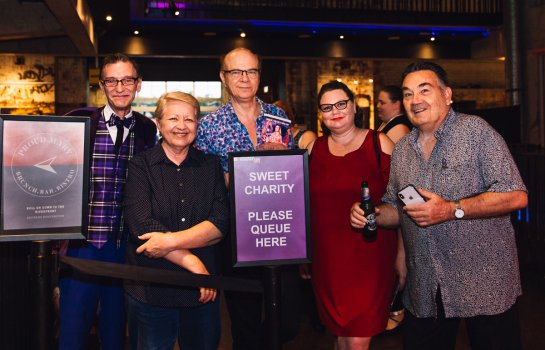 Sweet Charity Opening Night