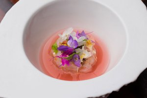 The Crudo Degustation at Bacchus