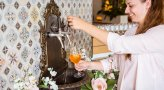 Sparkling Springs Spritz and Prosecco Fountain