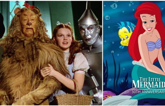 Wizard of Oz & Little Mermaid movie afternoon