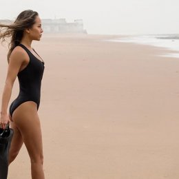 Snap up a SLO active sustainable swimsuit to help an ocean charity in need