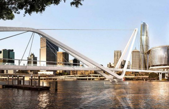 Neville Bonner Bridge to connect South Bank and the future Queen's Wharf precinct