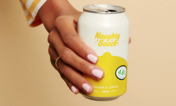 When naughty meets nice – Naughty Booch brings the booze to kombucha