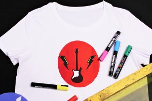 Band Tee Screen Printing for Tweens and Teens