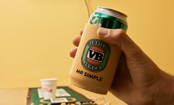 Mr Simple and Victoria Bitter team up on some froth-worthy threads