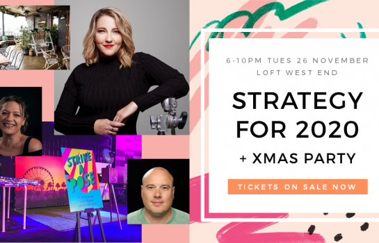 Strategy and Innovation for 2020 Xmas Party