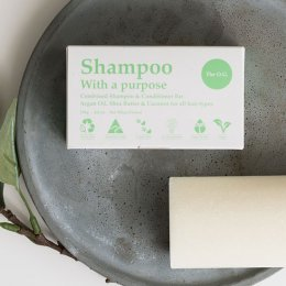 Ditch the plastic and lather up with a bar of Shampoo With A Purpose