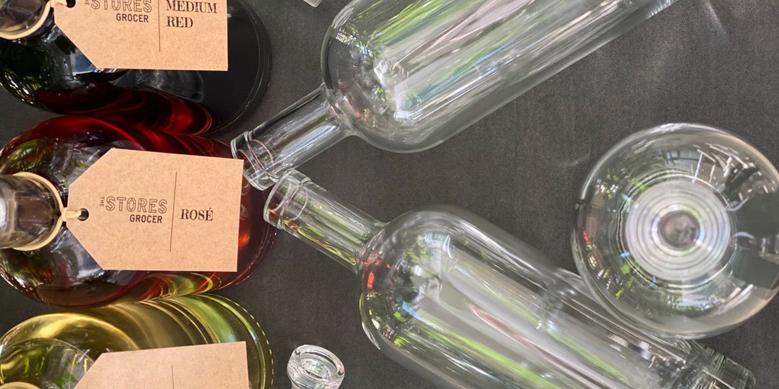 The Stores Grocer unveils Queensland's first refillable wine dispensary