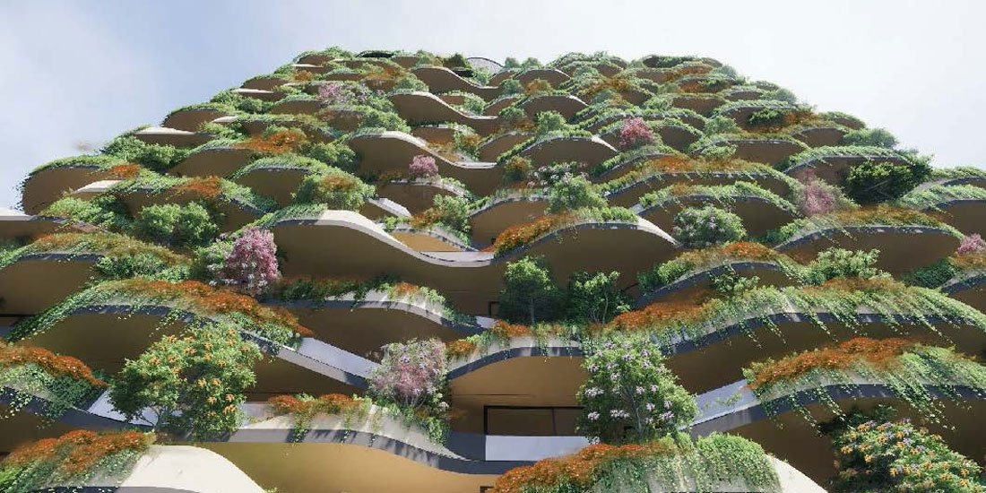 World's greenest residential building proposed for South Brisbane