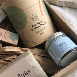 Make your morning routine plastic-free with Zilch's self-care box