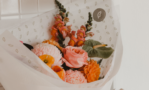 The Borrowed Nursery's boutique bouquet sibling Foliar blooms in Windsor