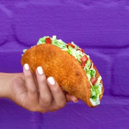 Taco Bell has flipped out and created fried chicken taco shells