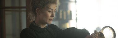 Win one of ten double passes to see the Marie Curie biopic Radioactive
