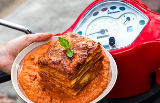 Put your pedal to the metal – a lasagne drive-through has landed in Brisbane
