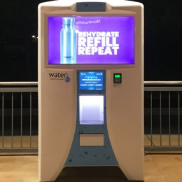 Hydration stations – Water3 has popped up to provide a sustainable drinking water alternative