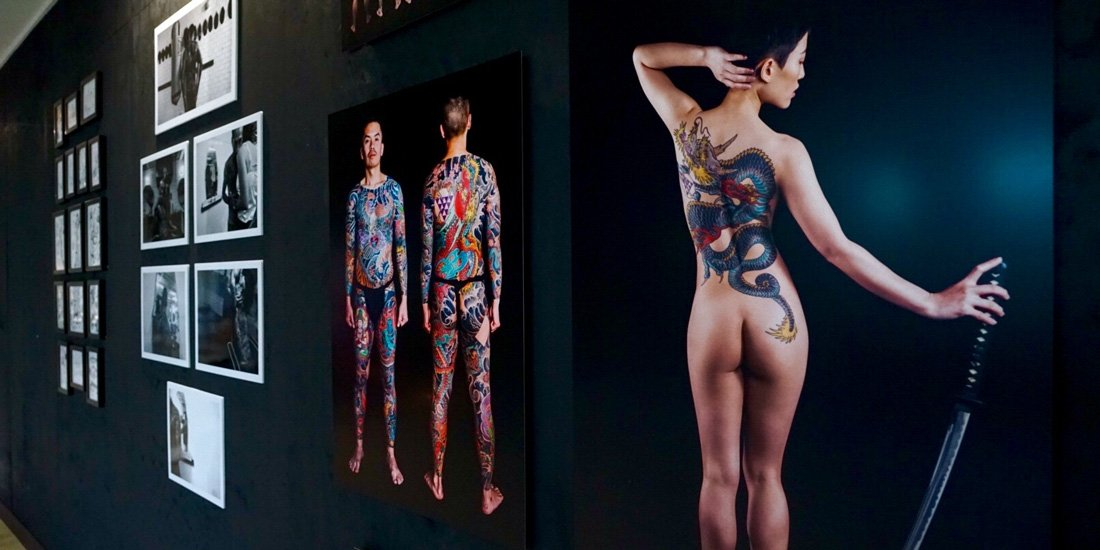 Byron Bay's PERMANENT art exhibition brings tattoo culture to life