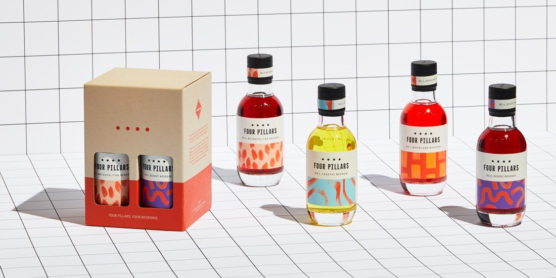 Say cheers to Italian cocktail history with limited-edition Four Pillars Four Negronis