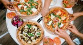 All You Can Eat Pizza at Aviary Rooftop Bar