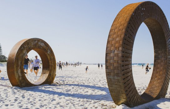 Currumbin gets set to transform into an open-air art gallery with SWELL Sculpture Festival