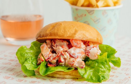 Lobster on a burger budget – Betty's Burgers drops limited-edition lobster rolls (with wine!)