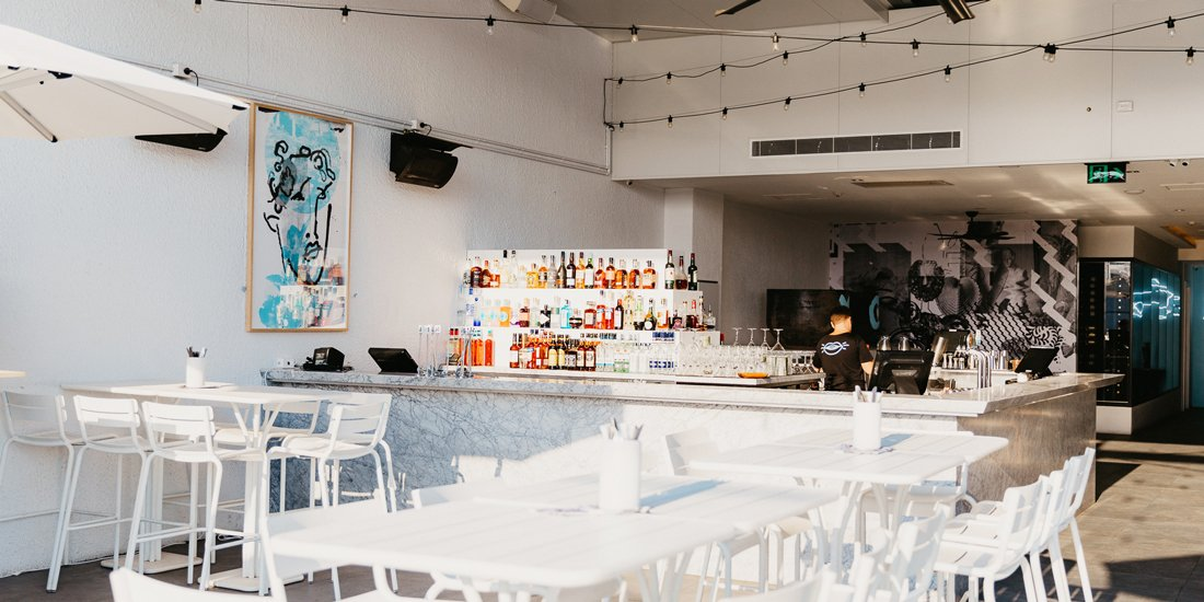 Inside Loki – the new two-level Mediterranean eatery and bar taking Hellenika's Nobby Beach spot