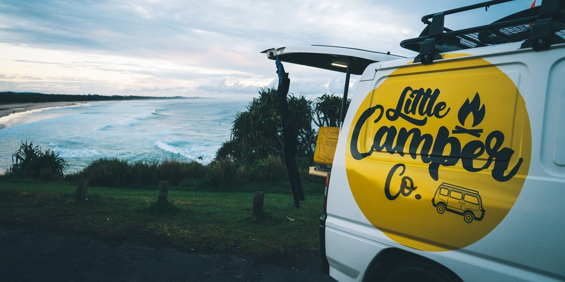 Explore our sunny state with your mates and hit the road in a Little Camper Co. van