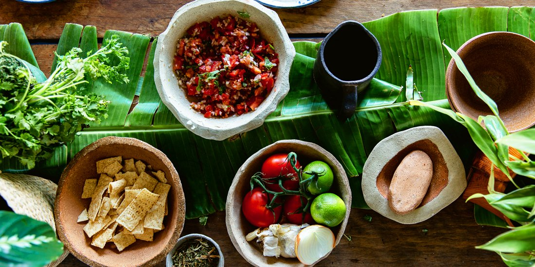 Sharpen your skills and learn the art of Mexican cooking with Clay Cantina