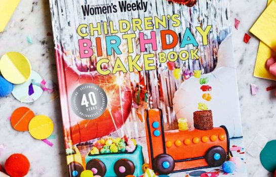 Recreate all of your childhood favourites with The AWW 40th anniversary edition Children's Birthday Cake Book